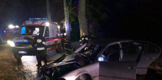 wypadek bmw Radostowo Orzechowo Dobre Miasto